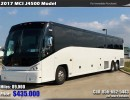 2017, MCI, Motorcoach Shuttle / Tour
