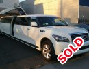 Used 2014 Infiniti Truck Stretch Limo Pinnacle Limousine Manufacturing - BROOKLYN, New York    - $68,995