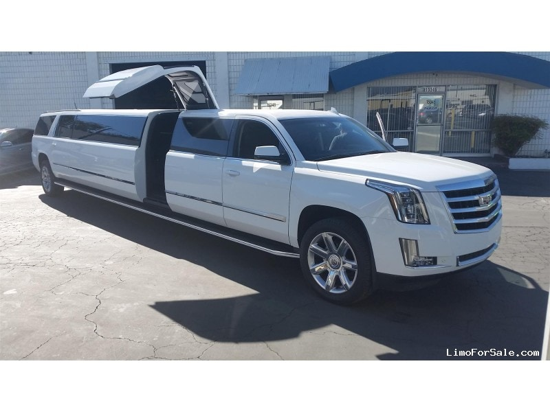 New 2019 Cadillac Escalade ESV SUV Stretch Limo Pinnacle Limousine Manufacturing - Hacienda Heights, California - $119,000