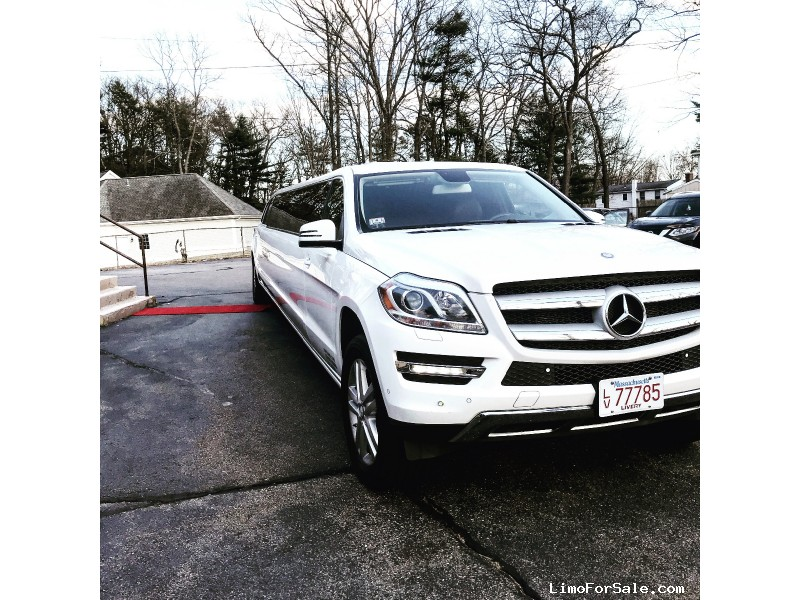 Used 2013 Mercedes-Benz GL class SUV Stretch Limo Pinnacle Limousine Manufacturing - Danvers, Massachusetts - $74,900