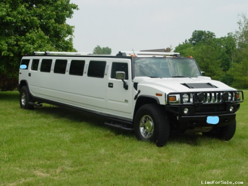 Used 2003 Hummer H2 SUV Stretch Limo  - Santa Clarita, California - $33,500