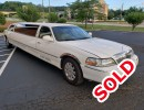 2005, Lincoln Town Car, Sedan Limo, Springfield